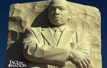 Schieffer on the MLK memorial dedication