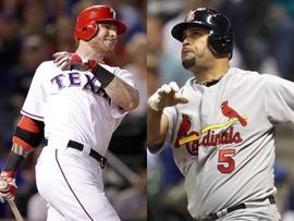 St Louis Cardinal vs Texas Rangers in 2011 World Series