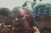 GRAPHIC VIDEO: Qaddafi wounded but alive