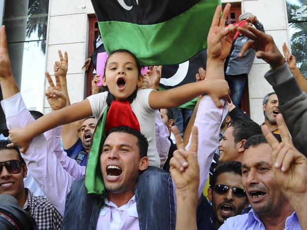 The death of Muammar Qaddafi