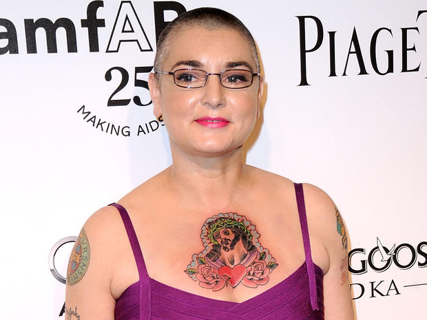 Sinead O'Connor through the years