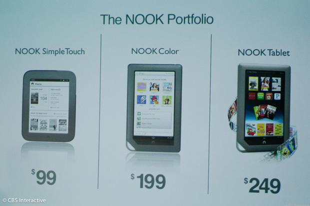 Nook Tablet to compete with Kindle Fire