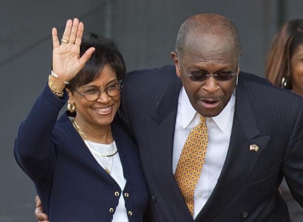Herman and Gloria Cain