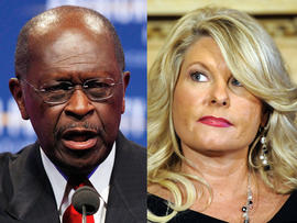 Herman Cain and Sharon Bialek
