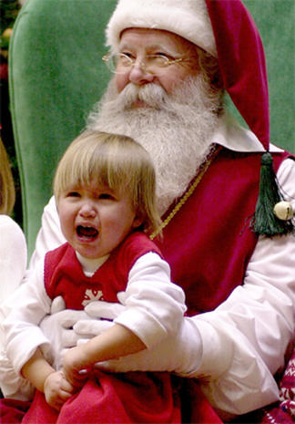 The many faces of Santa Claus
