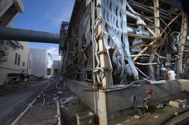 First look inside Fukushima nuclear plant