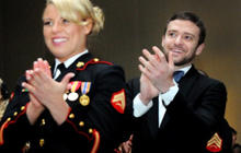 "Timberlake: Marine Corps Ball a ""moving evening"""