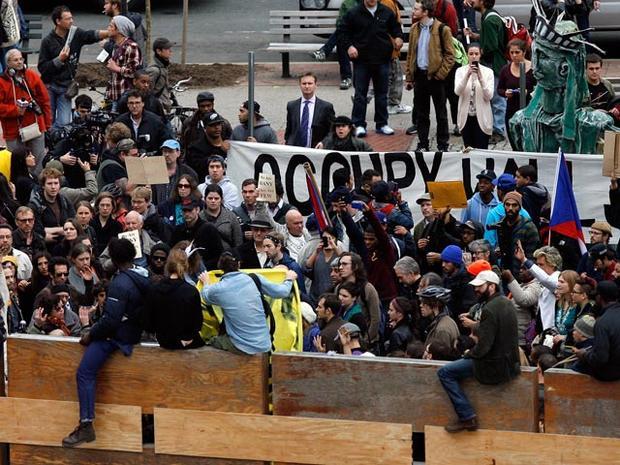 Occupy Zuccotti arrests
