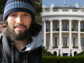 Oscar Ortega and White House