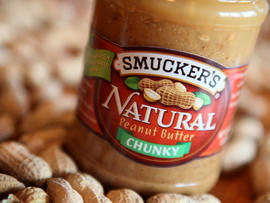 smucker's, natural chunky peanut butter, recall