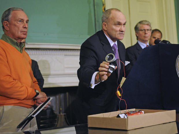 NYC man arrested in bomb plot