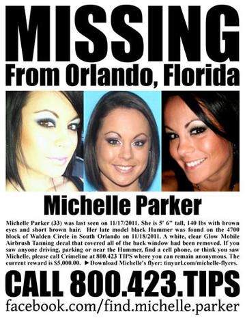 Michelle Parker, Fla. mother, missing