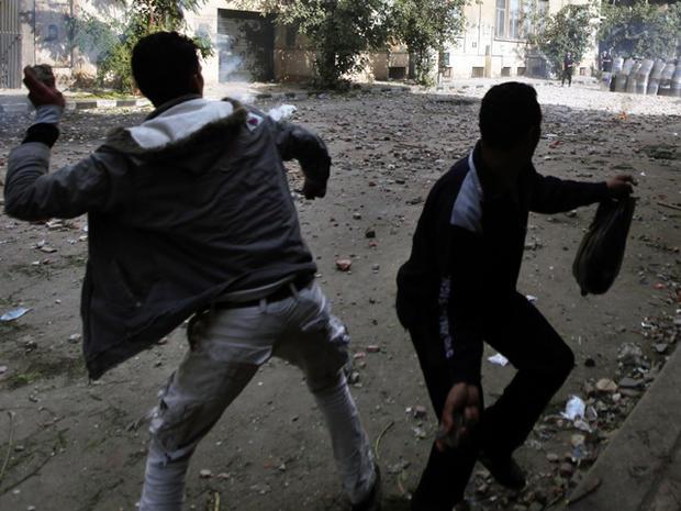 Tahrir Square clashes