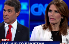"Bachmann: Perry ""naive,"" Pakistan ""too nuclear to fail"""
