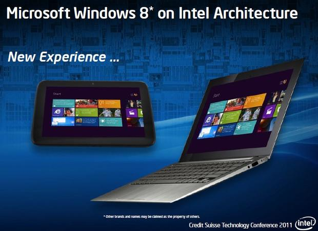 Windows 8 on Intel, new experience