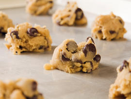 raw cookie dough, Chocolate Chip Cookie Dough