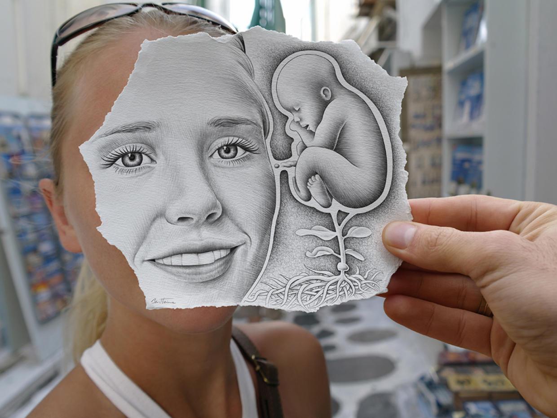Как сделать лицо на рисунке как на фотографии