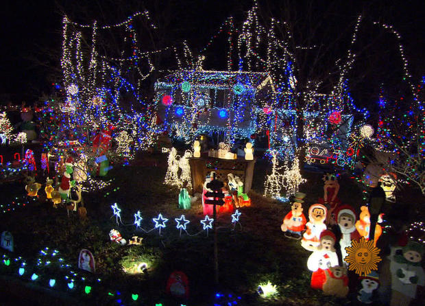 Tacky holiday lights