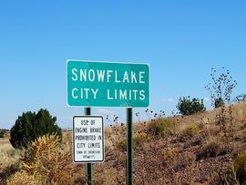 Christmas 2011: Five festive holiday towns Snowflake, Arizona