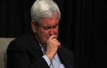 Gingrich cries remembering mother