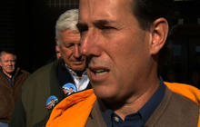 Santorum addresses answer of black's entitlement reform