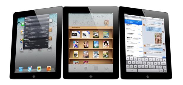 Apple's iPad 2 lineup.