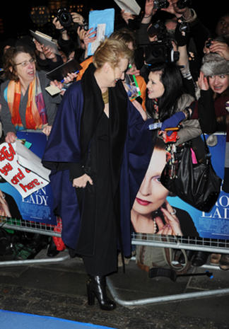 """The Iron Lady"" European premiere"
