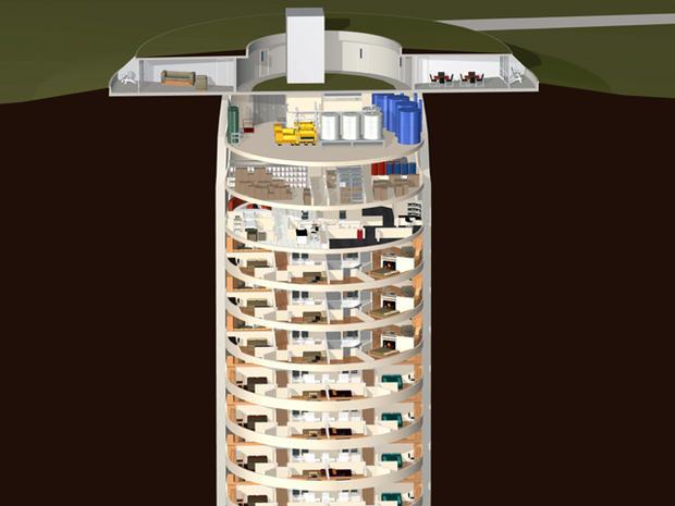 Condominiums built in former missile silo