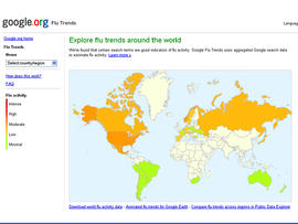 google flu trends, google, flu, influenza