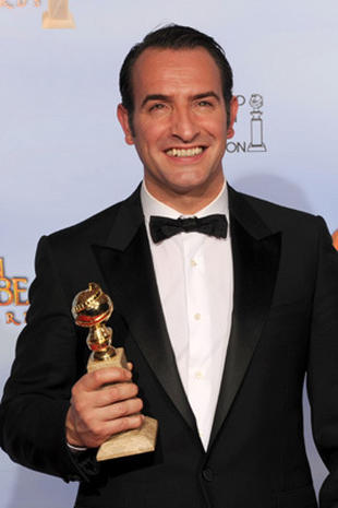 Golden Globes 2012 press room