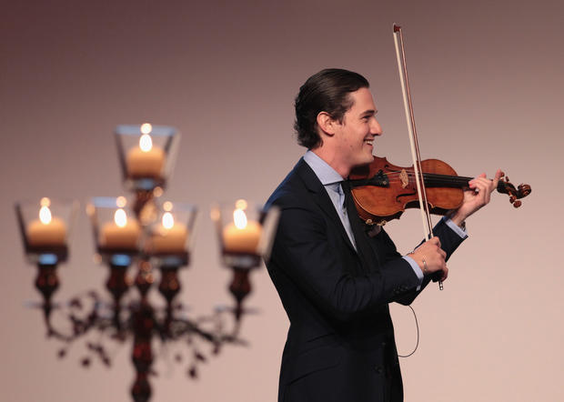 Charlie Siem, violin virtuoso and model