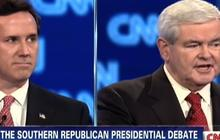 "Santorum: Gingrich had no ""courage"" as Speaker"