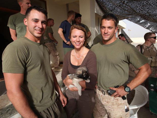 Saving a puppy in Afghanistan