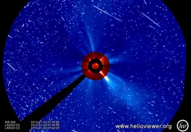 Spectacular solar storm reaches Earth