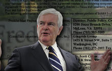 Gingrich releases Freddie Mac contract