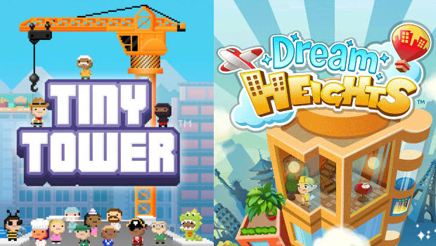 tiny tower, dream heights