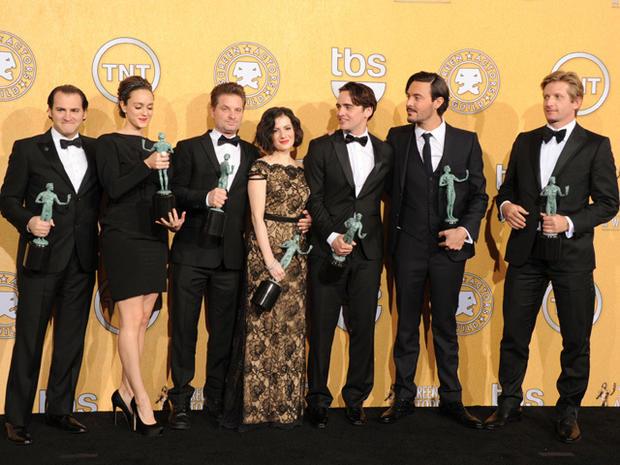 SAG Awards 2012 press room