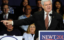Gingrich hoping for competitive finish in Nevada
