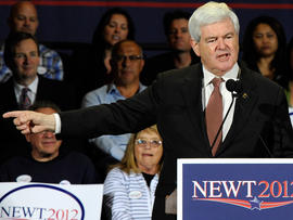 How long can Gingrich last?