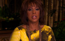 Gayle King on scene as word came of Houston's death
