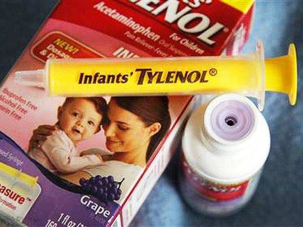 infant tylenol johnson
