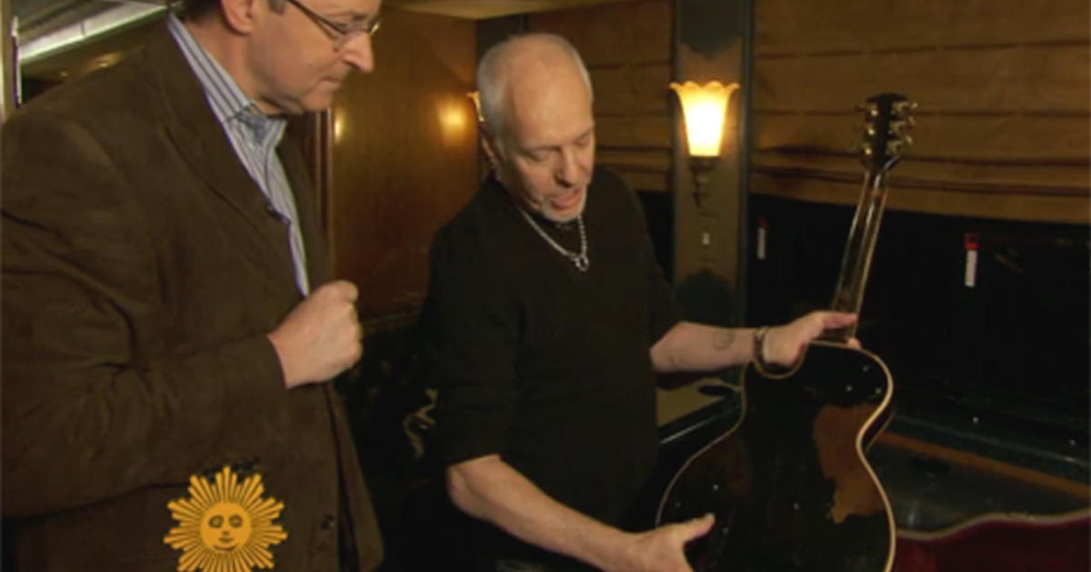 peter frampton and guitar together again cbs news. Black Bedroom Furniture Sets. Home Design Ideas