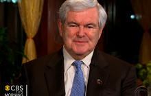 Gingrich on GOP race, gas prices and Obama
