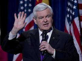 House Speaker Newt Gingrich