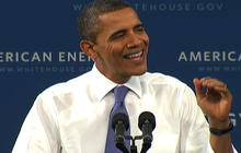 "Obama: No ""silver bullet"" to lower gas prices"