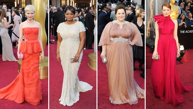 Oscar's red carpet product placement | Marketing Fashionista