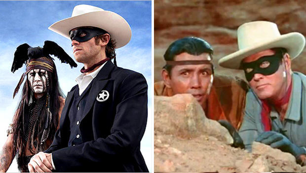 quot the lone ranger quot remake thrusts tonto into the spotlight cbs news