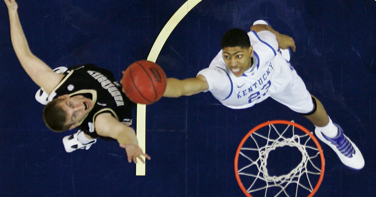 Kentucky Basketball Ranking The Top Five Wildcats Players: Kentucky's Anthony Davis Is AP Player Of The Year