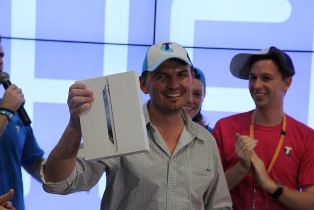 Apple's new iPad goes on sale