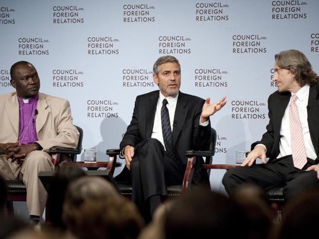 George Clooney in Washington